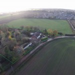 Little Oak Aerial View at Little Oak Camping, Nottinghamshire