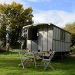 Romany Style Gamping Caravan at Little Oak Camping, Nottinghamshire