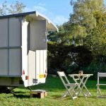 Glamping Caravan at Little Oak Camping, Nottinghamshire