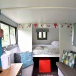 Little Oak Camping- Glamping Caravan Interior