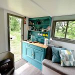 Little Oak Camping- Glamping Caravan Kitchen