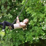 Little Oak Camping-Girl On A Swing
